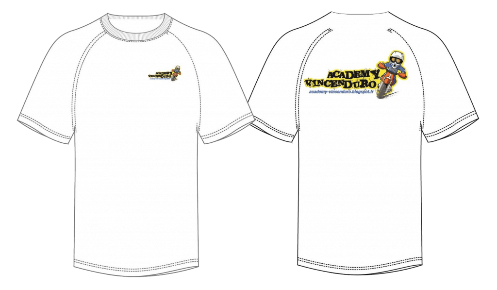 T-Shirt ACADEMY VINCENDURO